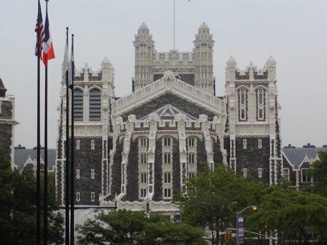 Shepard Hall Facade